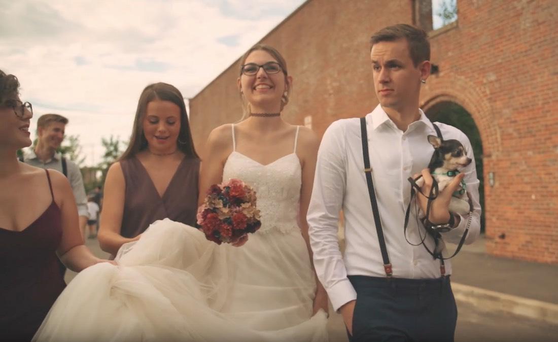 Hudson Filmr Films Brooklyn Bridge Park Wedding video