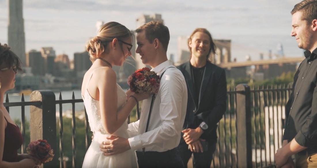 Hudson Filmr Cinematic Videography Brooklyn Bridge Park Wedding